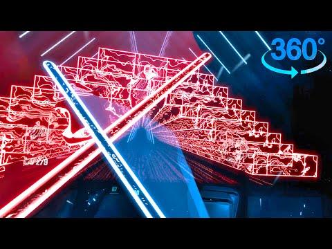 Beat Saber 360 – COOL WALLS!! | Xilent – Blue Shadows | Cross†Revolution – HyuN ft. LyuU | [Expert+]