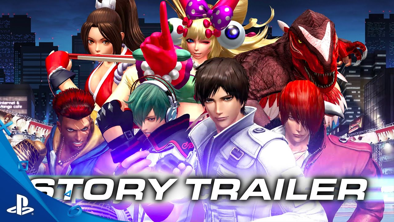 The King Of Fighters Xiv Story Trailer Ps4 Youtube
