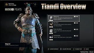 For Honor - Tiandi Overview - New Vanguard, Marching Fire DLC