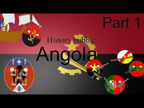 History bubble colonial and precolonial Angola