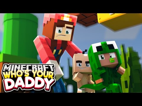 Minecraft Who's Your Daddy?  - AT THE MARIO CASTLE!