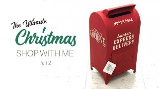 CHRISTMAS SHOP WITH ME  || Part 2 || Hearth and Hand | Target Dollar Spot | At Home | and MORE