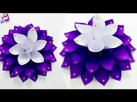 DIY paper flower making at home | Queen's home