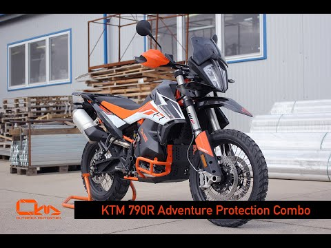 KTM 790R Adventure Protection Combo by Outback Motortek - Demo
