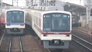 南海今宮戎駅にて(2018年2月25日撮影)