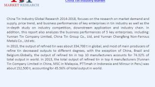 China Tin Industry Market Prospect in New Application Field