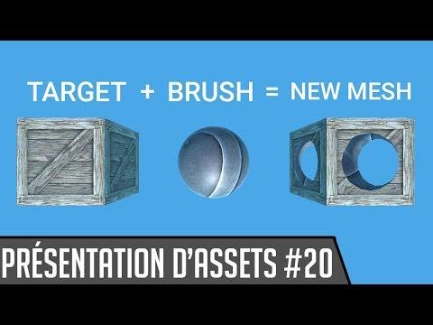 Présentation d'assets #20 : CSG (Mesh Maker) [Unity3D]