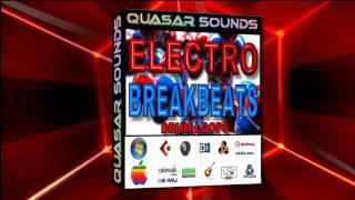 ELECTRO BREAKBEATS LOOPS 130 BPM    WAVE and MIDI