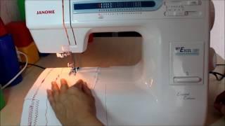 видео Отзывы о Швейная машинка Janome My Excel W23U