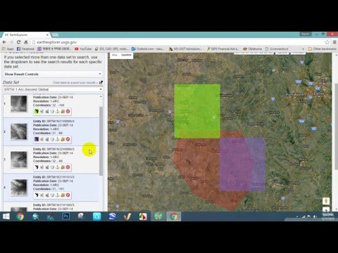 How to download a DEM file from USGS
