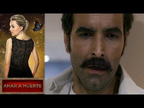 Beltrán se encuentra con el cuerpo del Chino |Amar a Muerte |Televisa