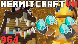 Hermitcraft 964 Spending Stacks Of Diamonds!