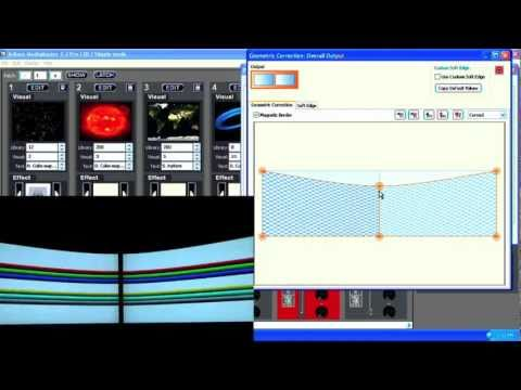 ArKaos MediaMaster Tutorial 5 - Advanced Geometrical Correction