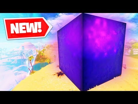 *NEW* GIANT LIGHTNING CUBE In Fortnite Battle Royale