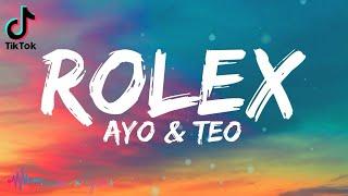 Ayo & Teo - Rolex / Rollie (Lyrics)   I just want a rollie rollie   TikTok Song   Rolex TikTok