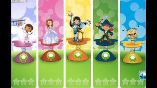 Disney Junior Big Air Adventure / For Children / Flash Online Gameplay Video