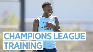 TRAINING IN LISBON MD-1 | CHAMPIONS LEAGUE TRAINING