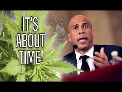 Cory Booker's New Bill Could Catalyze Nationwide Marijuana Legalization