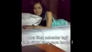 penampakan di video cut tari