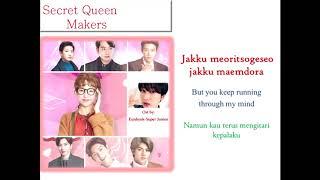 Eunhyuk (ost Secret Queen Makers)-- [Kor/Eng/IDN]  Lyric--