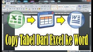 Cara Memindahkan Data Dari Excel Ke Word Agar Tidak Terpotong - Sumber Berbagi Data