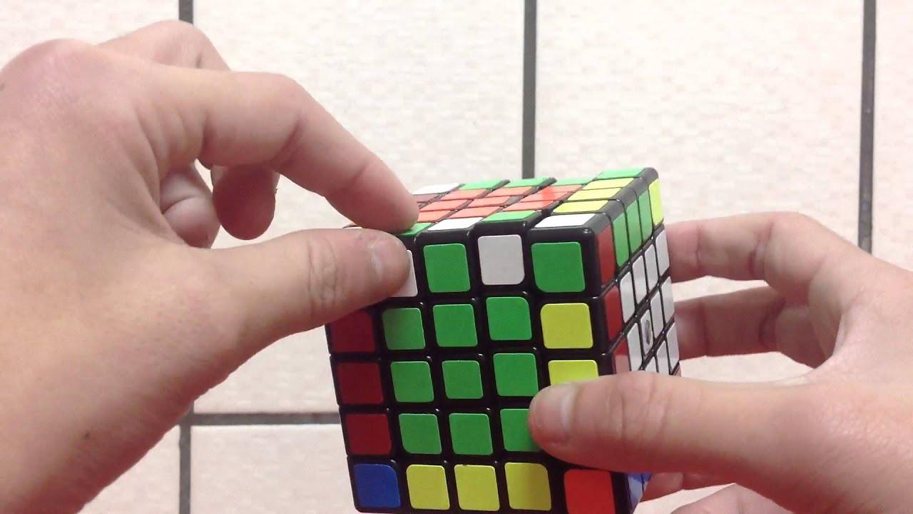 五階魔術方塊教學2單邊反轉 - YouTube
