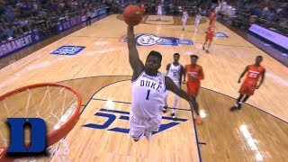 Zion Williamson Announces His Return With Monster Dunk