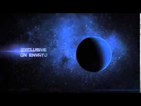 Space Opening Titles   Element 3D   YouTube 480p