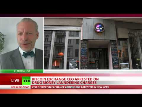 Jeffrey Tucker exclusive RT TV interview on arrest of Bitcoin's Charlie Shrem