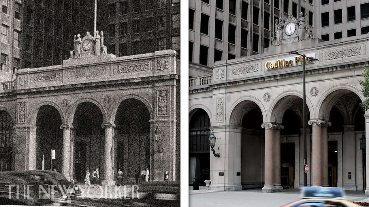 A Century of Detroit: Then and Now