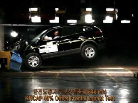 2009 Hyundai Veracruz NCAP Frontal Offset Impact (KNCAP)