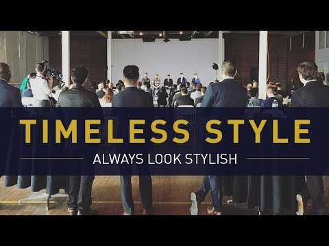 The 5 Elements Of Timeless (Men's) Style | How To Always Look Stylish