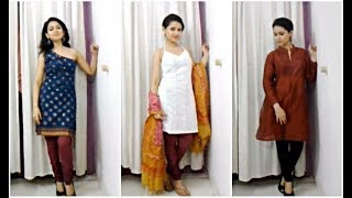 Trend Alert: 7 Different Kurta Cuts/Styles - 10 Outfit Ideas Thumbnail