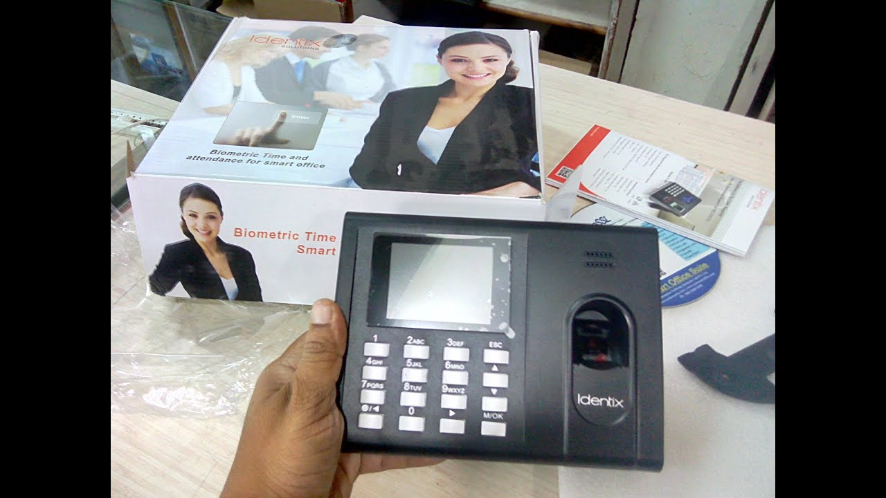 Learn New Things: Identix Biometric Time Attendance Machine