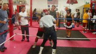Boxing | Amateur vs. Professional Sparring