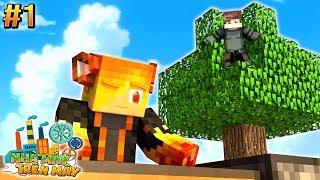 Khởi Đầu Kỷ Nguyên Đồ Gỗ - Minecraft Nhà Máy Trên Mây #1