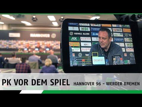 RE-LIVE: Die PK vor dem Spiel | Hannover 96 - Werder Bremen