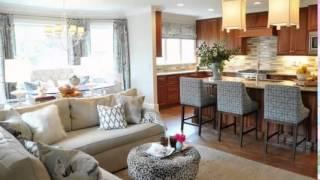 Small Kitchens Open On The Living Room مطابخ صغيرة مفتوحة على غرفة الجلوس