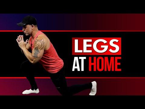 BEST Leg Workout At Home For Mass (Follow Along!)