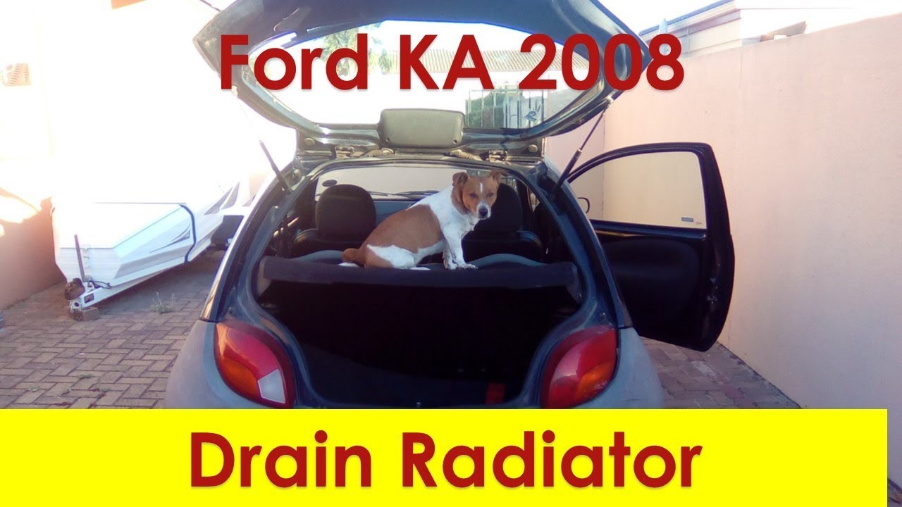 Ford Ka  How To Drain Coolant