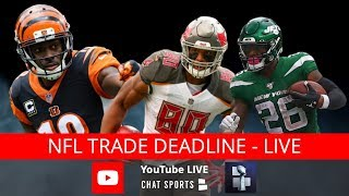 NFL Trade Deadline Live: Le'Veon Bell Trade Rumors, Latest Trades + Trent Williams & Jamal Adams