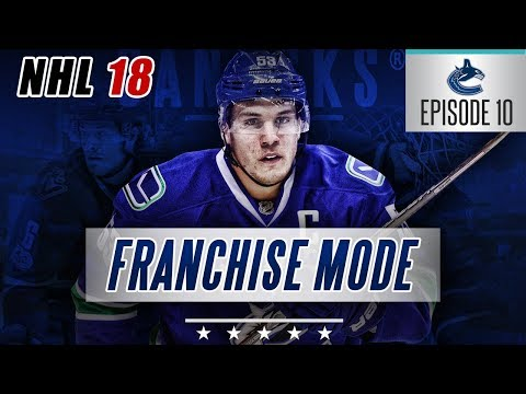 "NHL 18 Franchise Mode | Vancouver Canucks #10 ""Trading The Sedins + New 1st Liner"""