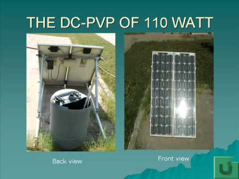 Improving pumping water by solar energy under the Egyptian Conditions.wmv
