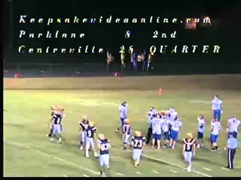 Parklane vs Centreville Football