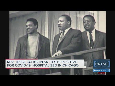 Rev. Jesse Jackson, Wife Jacqueline Hospitalized For COVID-19