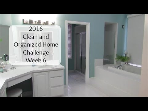 Deep Clean The Bathroom With Me | 2016 Clean And Organized Home Challenge  Week 6   YouTube