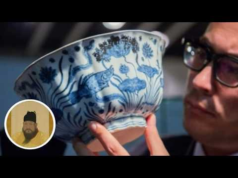 Ming-dynasty Chinese porcelain bowl sells in Hong Kong for H