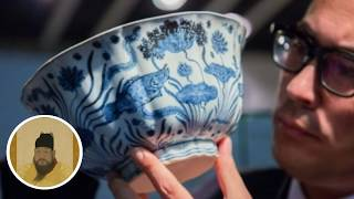 Ming-dynasty Chinese porcelain bowl sells in Hong Kong for HK$229 million at a Sotheby's auction