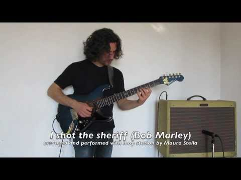 """I shot the sheriff"" (Bob Marley) performed with loop station"