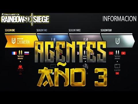 NACIONALIDADES AÑO 3!! ITALIA,MARRUECOS... - WHITE NOISE - Rainbow Six Siege Gameplay Español